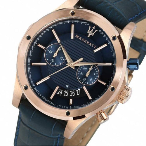 Maserati Circutio Men's Leather Watch - R8871627002