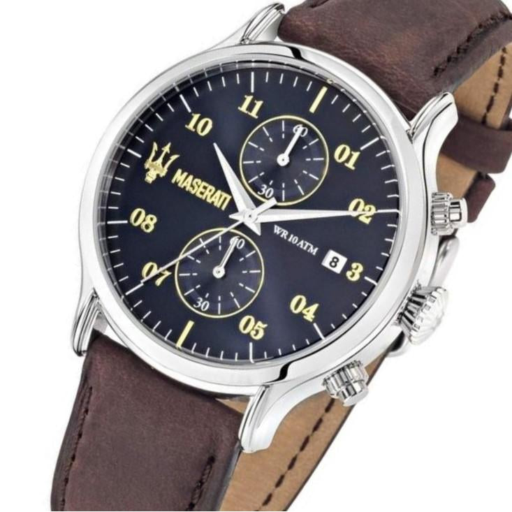 Maserati Epoca Men's Leather Watch - R8871618001