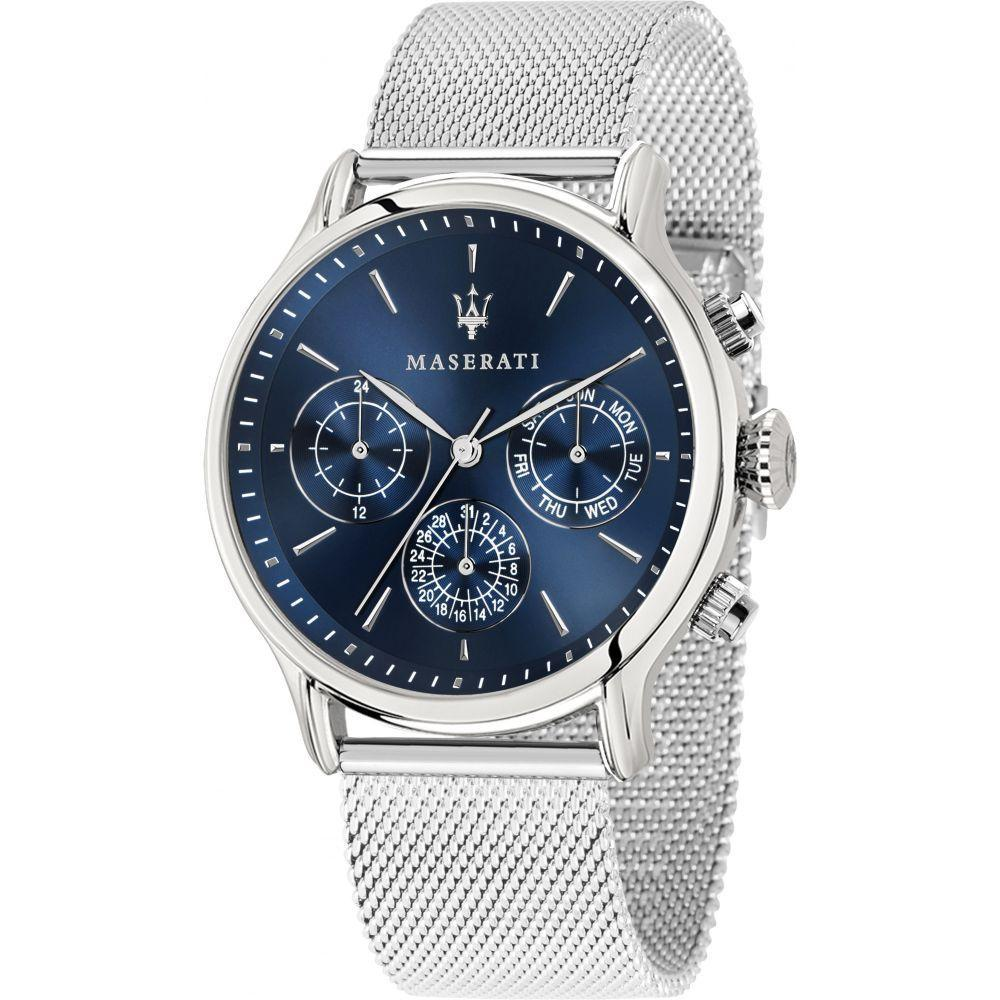 Maserati Epoca Silver Men's Watch - R8853118013-The Watch Factory Australia