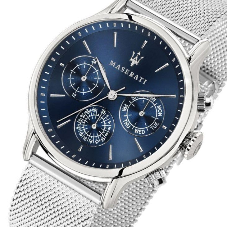 Maserati Epoca Silver Men's Watch - R8853118013