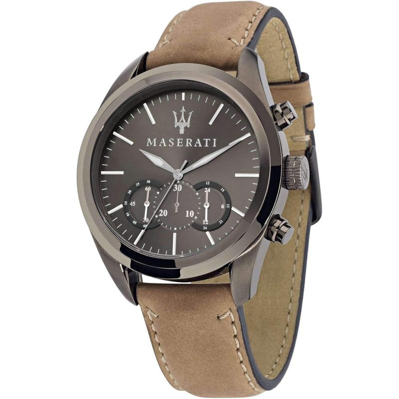 Maserati Pole Position Leather Mens Watch - R8871612005-The Watch Factory Australia