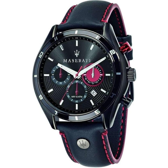 Maserati Sorpasso Leather Mens Watch - R8871624002-The Watch Factory Australia