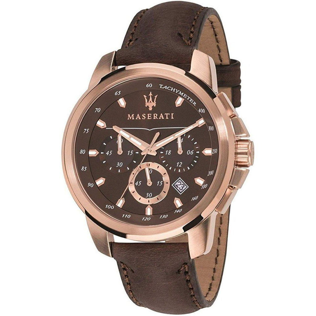 Maserati Successo Leather Men's Watch - R8871621004