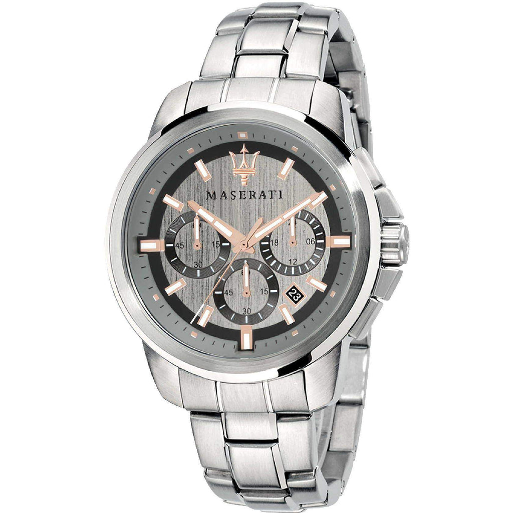 Maserati Successo Men's Stainless Steel Watch - R8873621004-The Watch Factory Australia