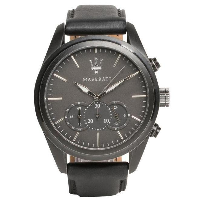 Maserati Traguardo Leather Men's Watch - R8871612019