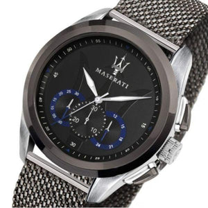Maserati Traguardo Men's Steel Mesh Watch - R8873612006-The Watch Factory Australia