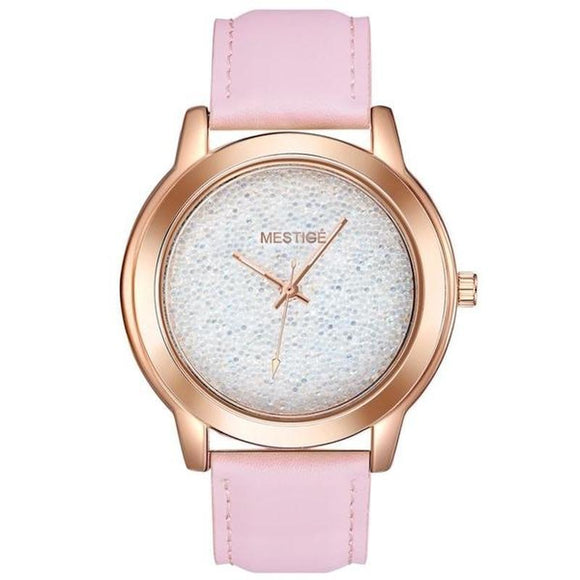 Mestige Ladies Afterglow Watch With Crystals From Swarovski®