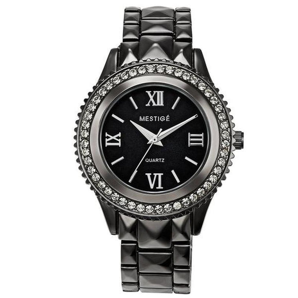 Mestige Ladies Faulkner Watch with Crystals From Swarovski®