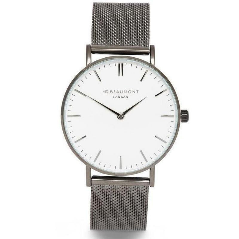 Mr. Beaumont Men's Steel Mesh Watch - MB1802.4