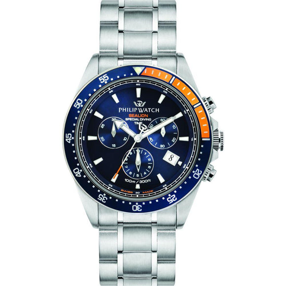 Philip Sealion Stainless Steel Men's Watch - r8273609001