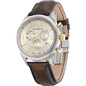 Philip Watch Chronograph Leather Mens Watch - R8271996001