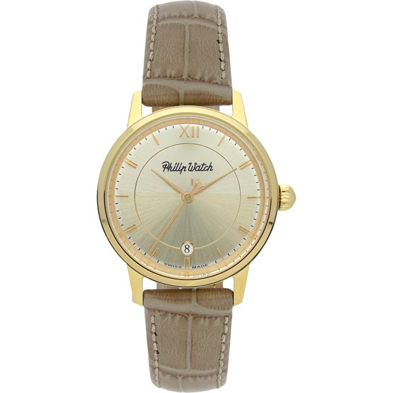 Philip Watch Leather Ladies Watch - R8251598501