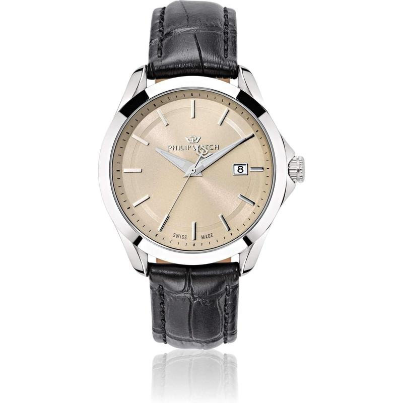 Philip Watch Leather Mens Watch - R8251165003