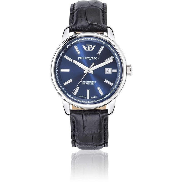 Philip Watch Leather Mens Watch - R8251178008