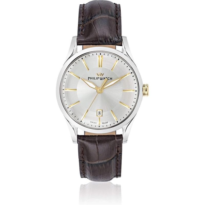 Philip Watch Leather Mens Watch - R8251180004