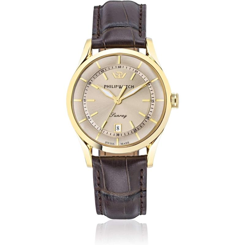 Philip Watch Leather Mens Watch - R8251180006