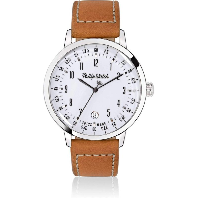 Philip Watch Leather Mens Watch - R8251598002