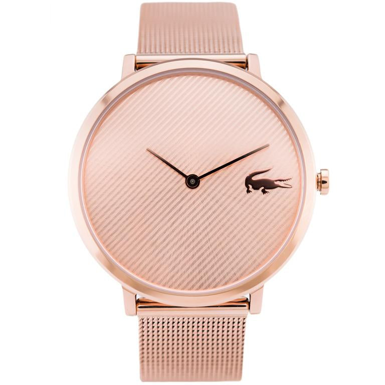 Lacoste Ladies Rose Gold Moon Watch - 2001028