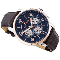 Tommy Hilfiger Men's Keagan Leather Sport Watch - 1791290