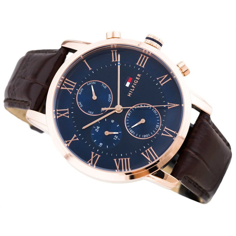 Tommy Hilfiger Multi-functional Leather Men's Watch - 1791399