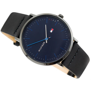 Tommy Hilfiger Men's Casual Leather Watch - 1791462
