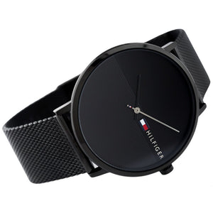 Tommy Hilfiger Men's Black Mesh Watch - 1791464