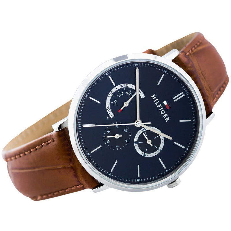 Tommy Hilfiger Leather Men's Watch - 1710375