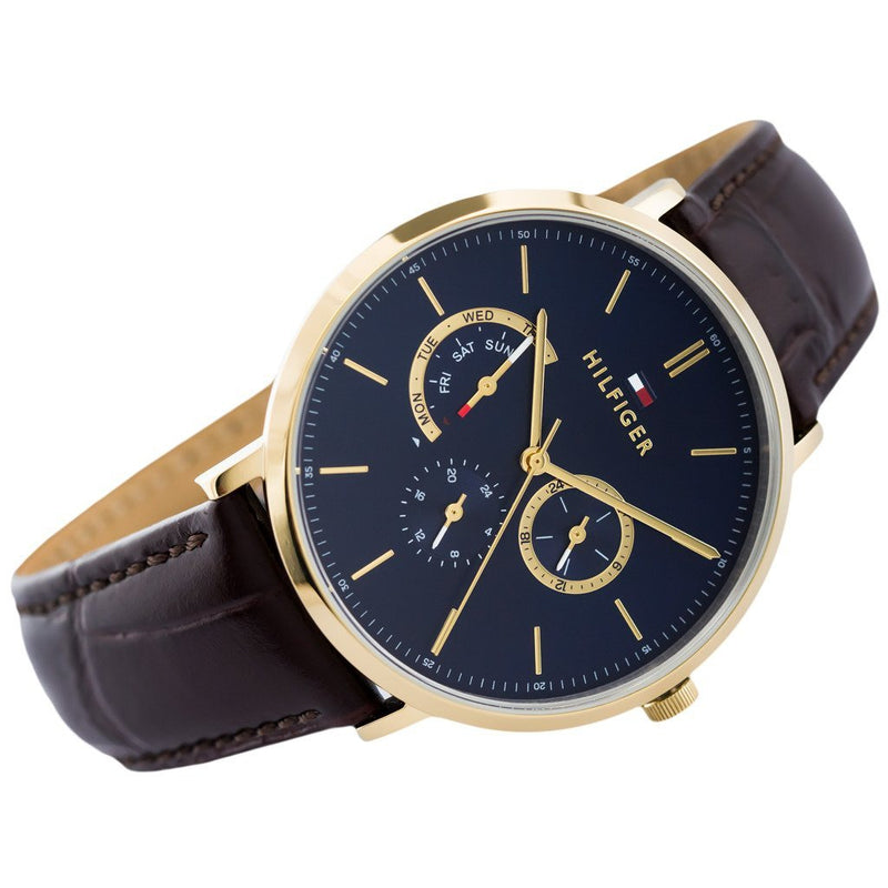 Tommy Hilfiger Leather Men's Watch - 1710376