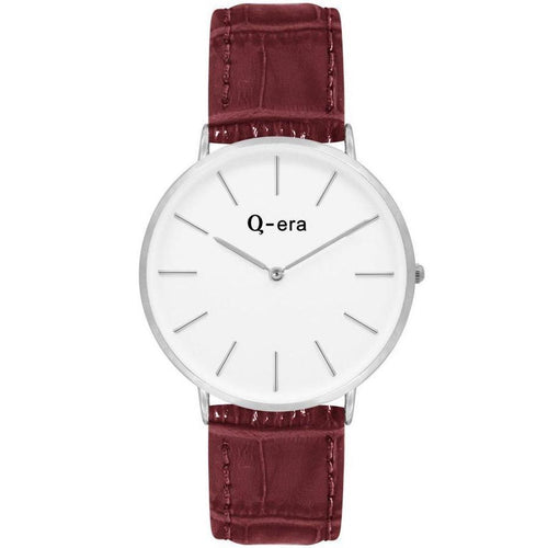 Q-era Brown Leather Women's Watch - QV2804-5