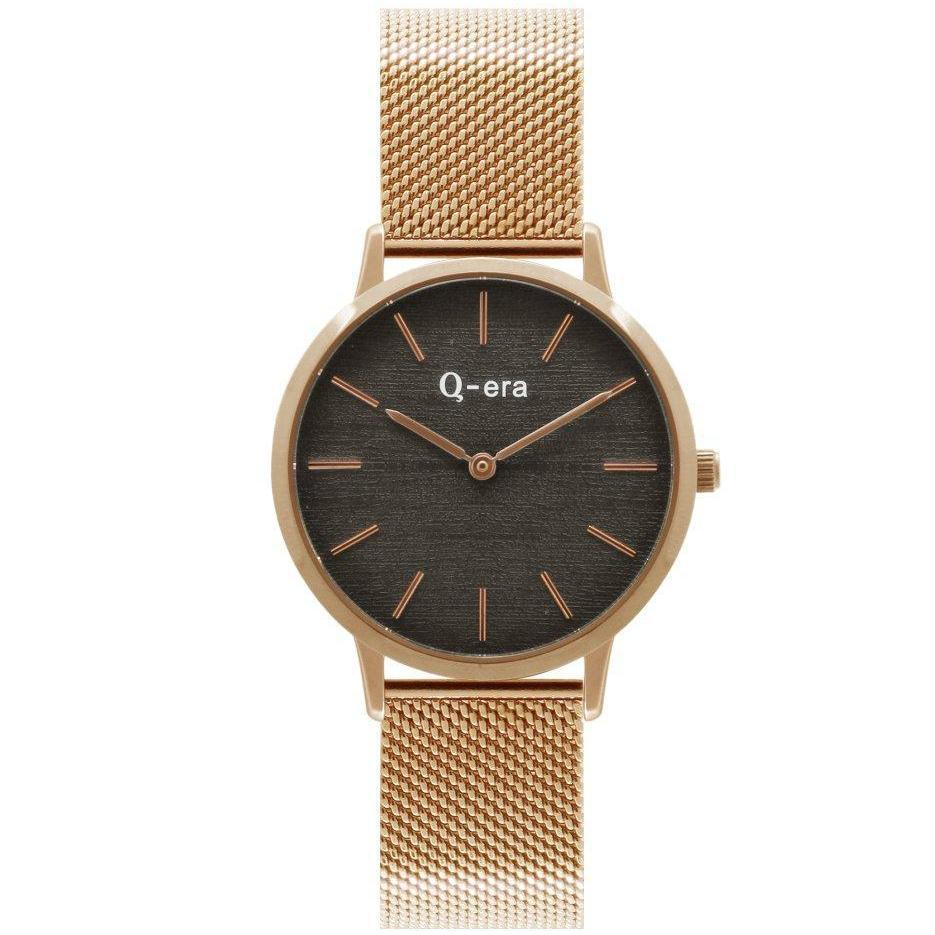 Q-era Gold Mesh Women's Watch - QV2801-101