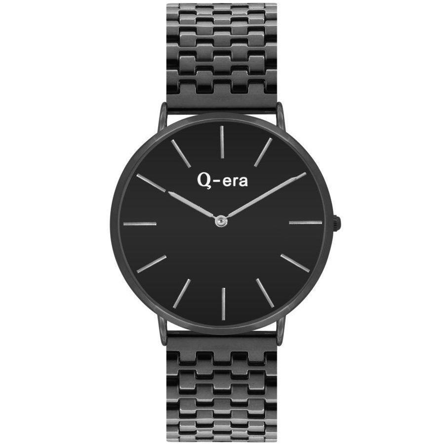 Q-era Rose Gold Black Women's Watch - QV2804-13