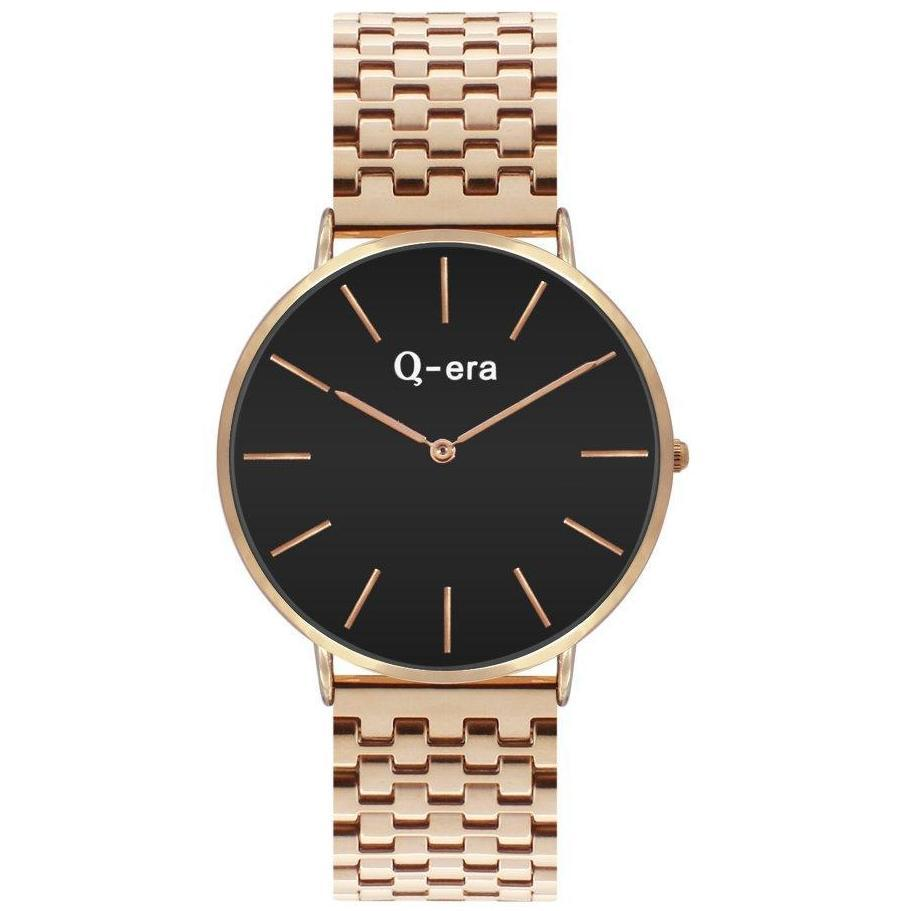 Q-era Rose Gold Steel Women's Watch - QV2804-11
