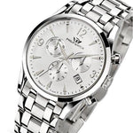 Philip SUNRAY Swiss Made Quartz Mens Chronograph Watch - R8273908145