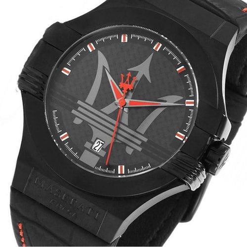 Maserati Potenza Men's Leather Watch - R8851108010