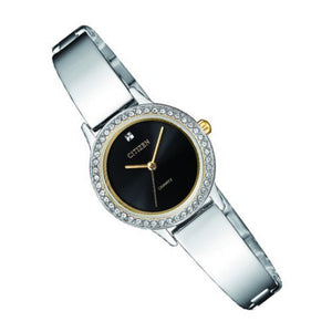 Citizen Ladies Two Tone Stainless Steel Quartz Watch - EJ6134-50E