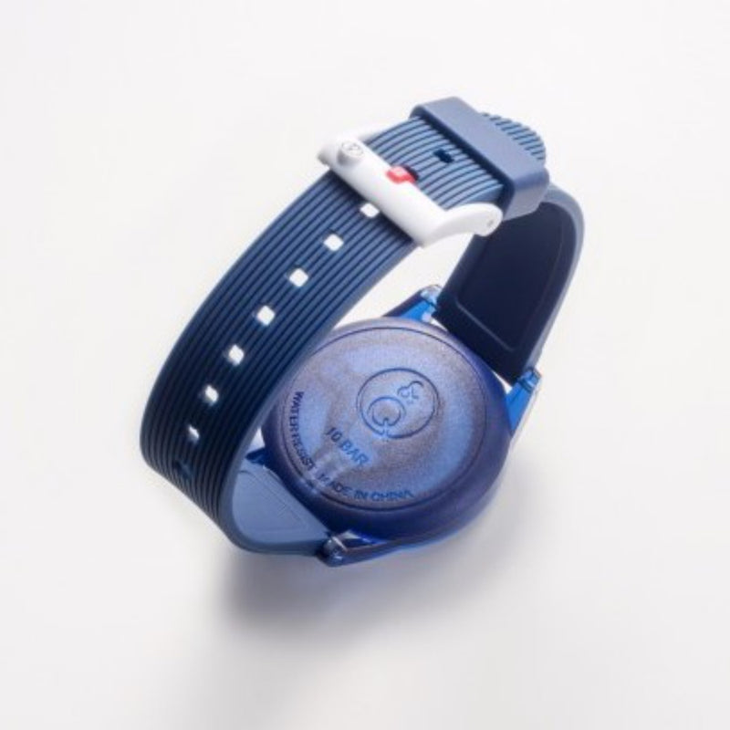Q&Q SmileSolar Navy Solar Unisex Watch - RP10J004Y