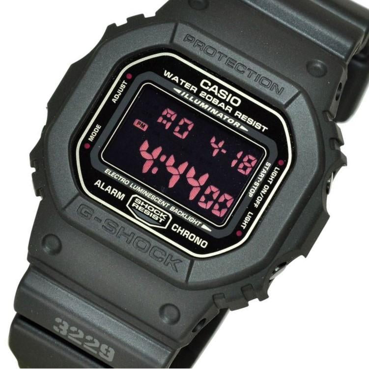 Casio G-SHOCK Black Resin Series Digital Watch - DW5600MS-1