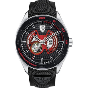 Scuderia Ferrari Automatic Silicone Men's Watch - 830348