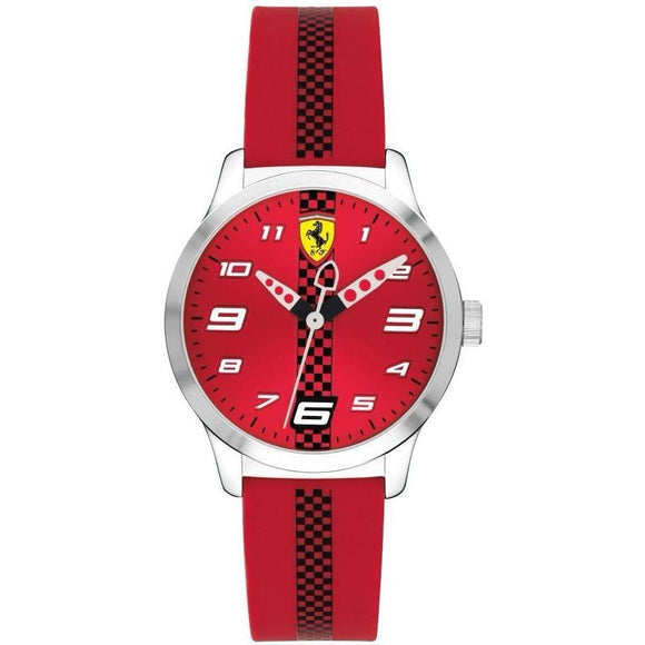 Scuderia Ferrari Kids Pitlane Watch - 860001-The Watch Factory Australia