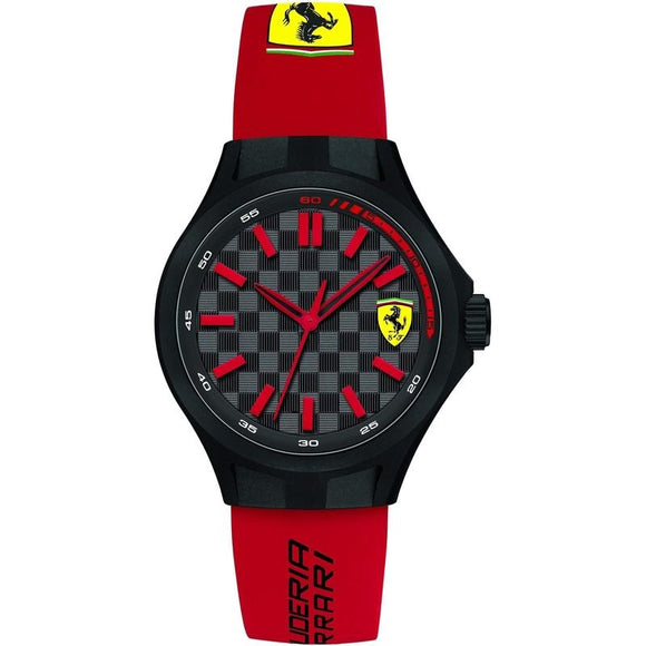 Scuderia Ferrari Pit Crew Red Silicone Watch - 840007