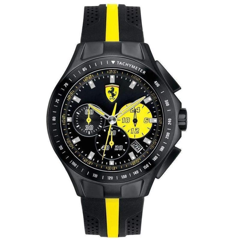 Scuderia Ferrari Race Day Silicone Men's Watch - 830025
