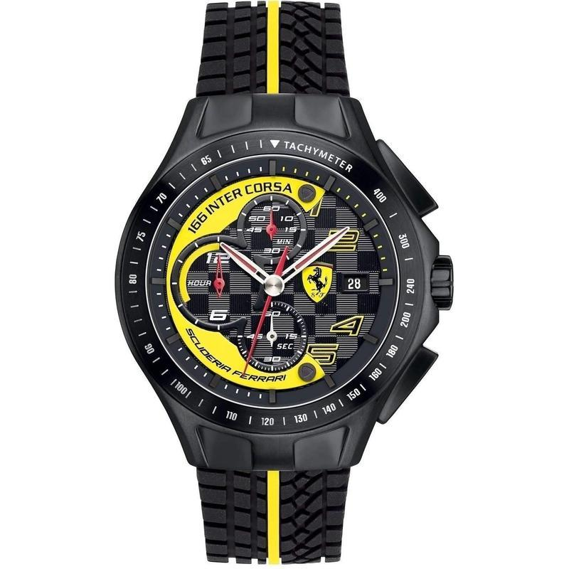 Scuderia Ferrari Race Day Silicone Men's Watch - 830078