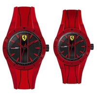 Scuderia Ferrari Red Rev Father & Son Gift Set - 870022