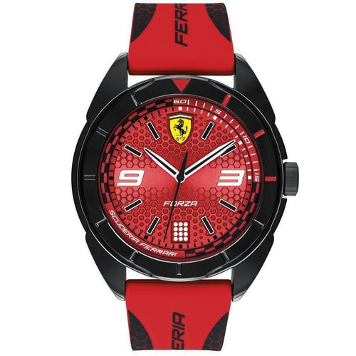 Scuderia Ferrari Red Silicone Men's Watch - 830517