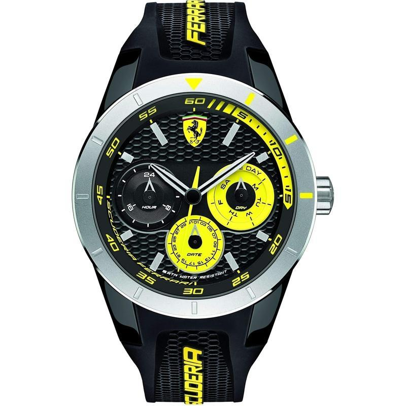 Scuderia Ferrari Redrev Silicone Men's Watch - 830257
