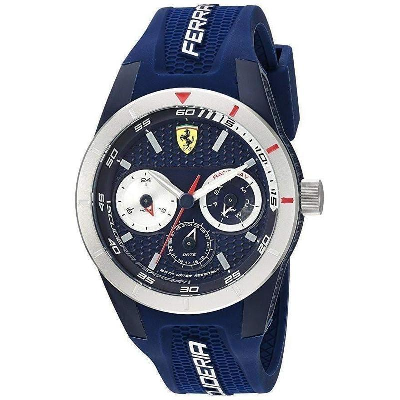 Scuderia Ferrari Redrev Silicone Men's Watch - 830436