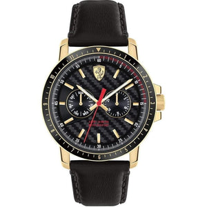 Scuderia Ferrari Turbo Leather Mens Watch - 830451
