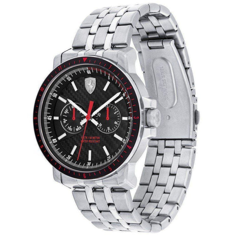 Scuderia Ferrari Turbo Leather Men's Watch - 830453