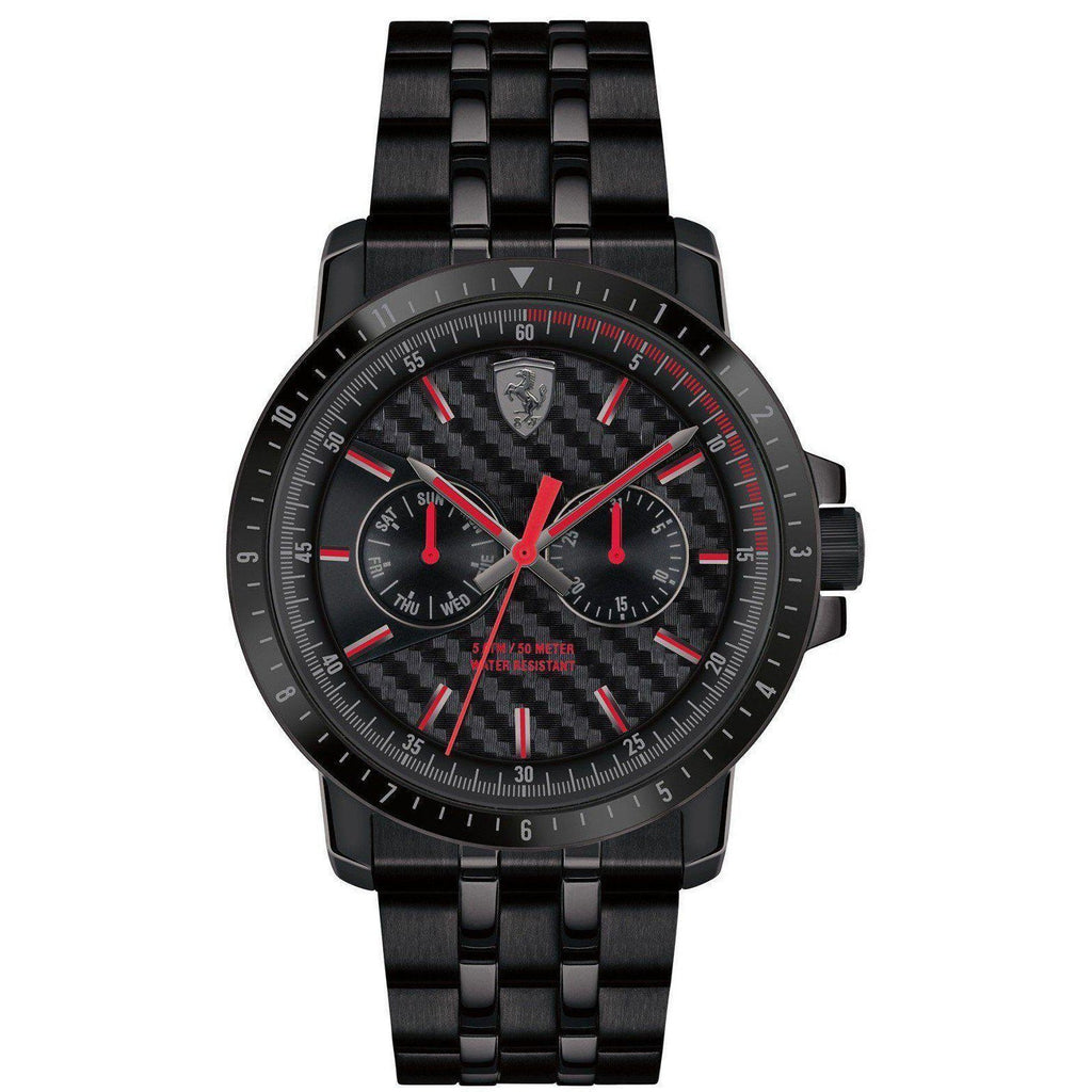 Scuderia Ferrari Turbo Leather Men's Watch - 830454