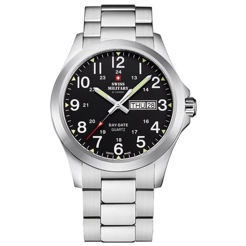 Swiss Military Stainless Steel Men's Watch - SMP36040.25